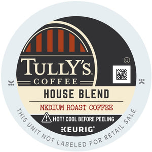 Tully's House Blend K-Cups 96ct Medium