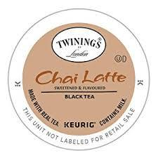 Twinings Chai Latte K-cup Pods 24ct