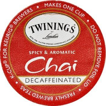 Twinings Chai Decaf Tea K-Cup® Pods 24ct