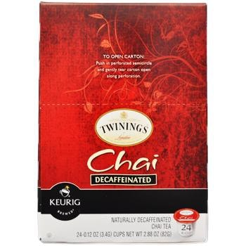 Twinings Chai Decaf Tea K-Cup® Pods 96ct
