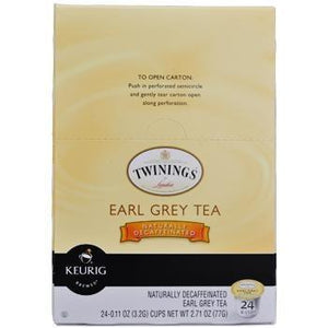 Twinings Earl Grey Decaf Tea K-Cup® Pods 96ct
