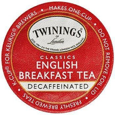Twinings English Breakfast Decaf Tea K-Cups 24ct
