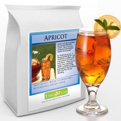 Uniq Tea Apricot Iced Tea Pouches 12ct