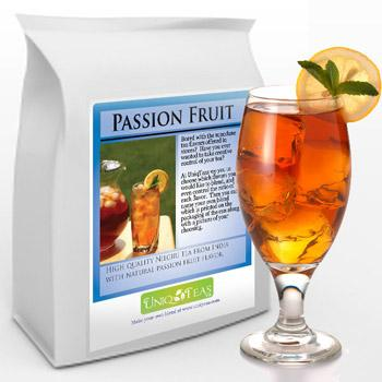 Uniq Tea Passion Fruit Iced Tea Pouches 12ct Box
