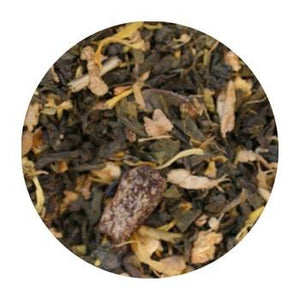 Uniq Teas Ginger Orange Peach Loose Leaf Tea Grinds