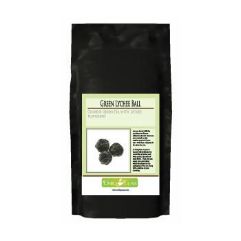 Uniq Teas Green Lychee Ball Loose Leaf Tea