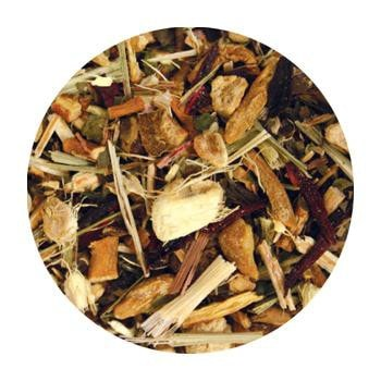 Uniq Teas Herbal Energy Loose Leaf Tea Grinds