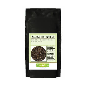Uniq Teas Makaibari Estate 2nd Flush Loose Leaf Tea