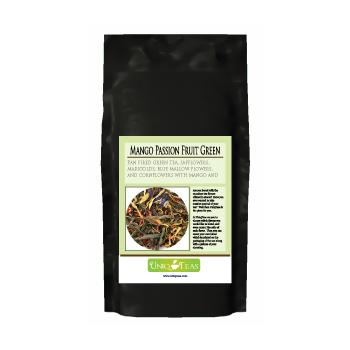 Uniq Teas Mango Passion Fruit Green Loose Leaf Tea