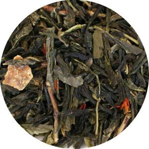 Uniq Teas Mean Green Tangerine Loose Leaf Tea Grinds