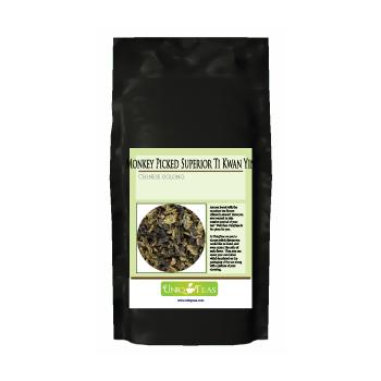 Uniq Teas Monkey Picked Superior Ti Kwan Yin Loose Leaf Tea