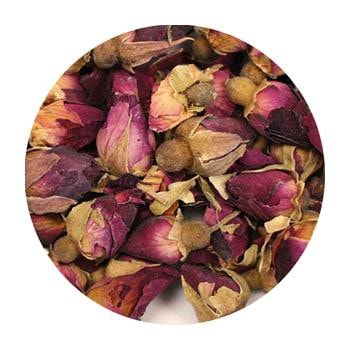 Uniq Teas Rosebud Tea Loose Leaf Tea Grinds