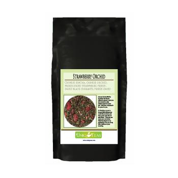 Uniq Teas Strawberry Orchid Loose Leaf Tea