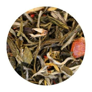 Uniq Teas White Orange Ginger Peach Loose Leaf Tea Grinds