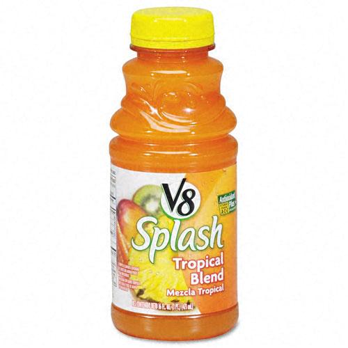 V8 Splash Tropical Blend Juice 16oz Bottles 12ct Case