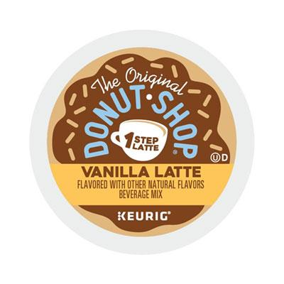 The Original Donut Shop® Vanilla One Step Latte, 20ct