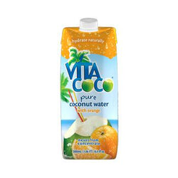 Vita Coco Orange Coconut Water 17oz 12-Pack Case