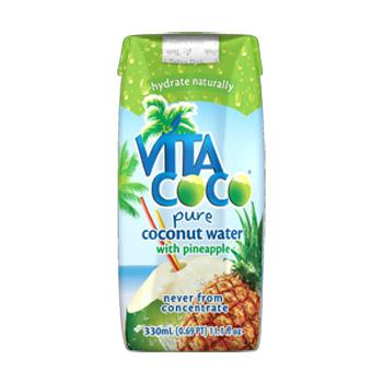 Vita Coco Pineapple Coconut Water 11.1oz 12 Pack