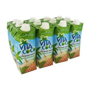 Vita Coco Pineapple Coconut Water 17oz 12-Pack Case