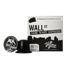 HiLine Coffee Wall Street Dark Roast Nespresso Compatible Capsules 60ct