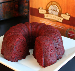 Wicked Jack's Red Velvet Rum Cake 20oz