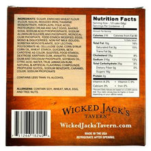 Wicked Jacks Tavern Butter 20oz Rum Cake Box Side