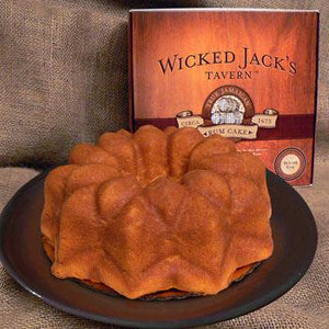 Wicked Jack's Butter Rum Cake 33oz