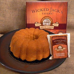 Wicked Jack's Caramel Rum Cake 20oz