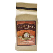 Wicked Jacks Tavern Coffee Ol Gran's Butter Rum Decaffeinated Coffee Beans 12oz Bag