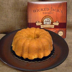 Wicked Jack's Rum Raisin Cake 20oz