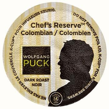 Wolfgang Puck Chef's Reserve Colombian Coffee K-Cups 24ct