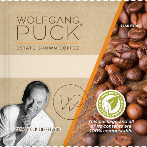 Wolfgang Puck Coffee Fair Trade Colombian Organic Pods 18ct