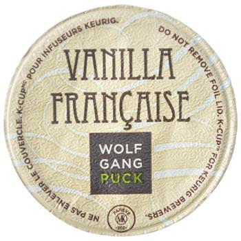 Wolfgang Puck Vanilla Francaise Coffee K-Cups 24ct