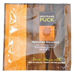 Wolfgang Puck Coffee Hawaiian Hazelnut Decaf Pods 18ct