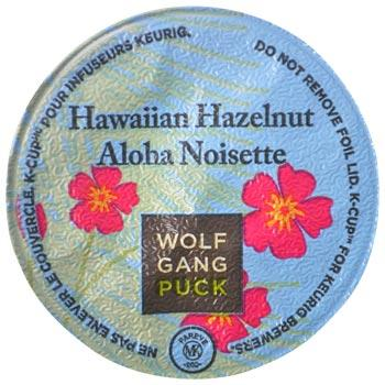 Wolfgang Puck Hawaiian Hazelnut Coffee Keurig K-Cup Single Cup