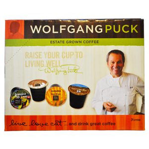 Wolfgang Puck Vanilla Francaise Coffee K-Cups 24ct  Box Side Right