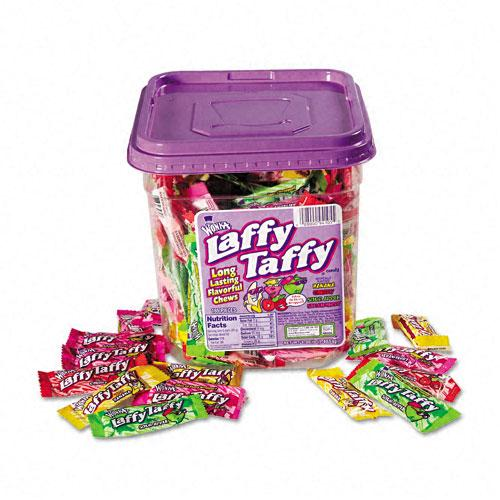 Wonka Laffy Taffy Assorted Flavors 40oz 165ct Tub