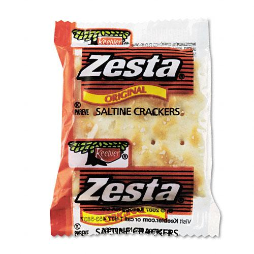 Zesta Original Saltine Crackers Individual Packs 300ct Box