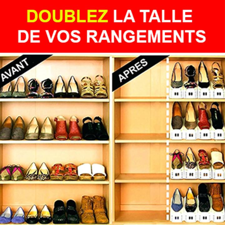[PROMO 2=3] Range Chaussures Magique - VentesFlashFrance
