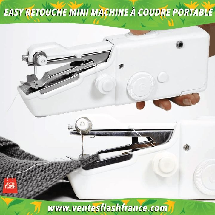 EASY RETOUCHE: Mini Machine à coudre portable - VentesFlashFrance