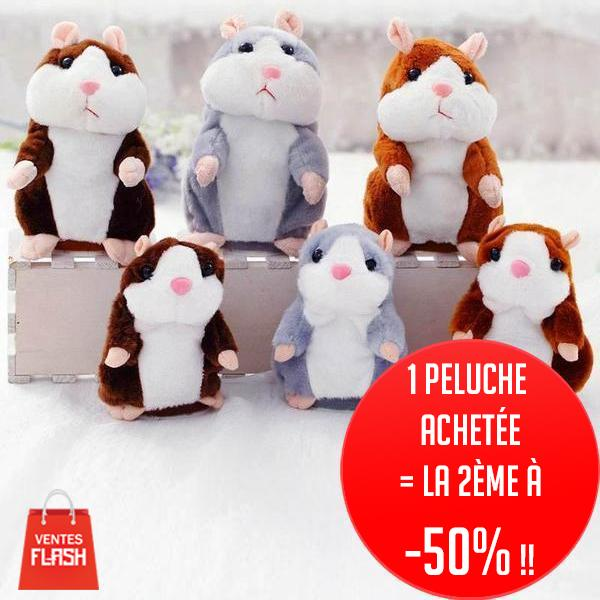 Peluche Hamster Parlante - VentesFlashFrance