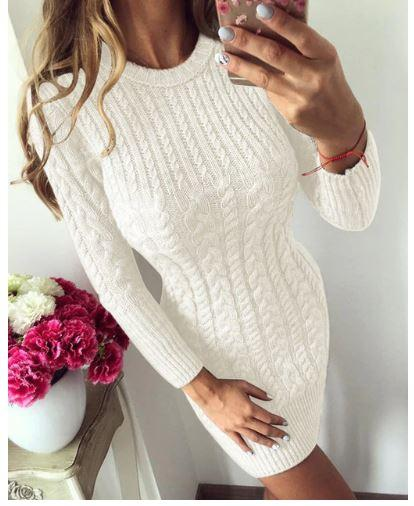 Robe Tricot Tendance Hiver - VentesFlashFrance