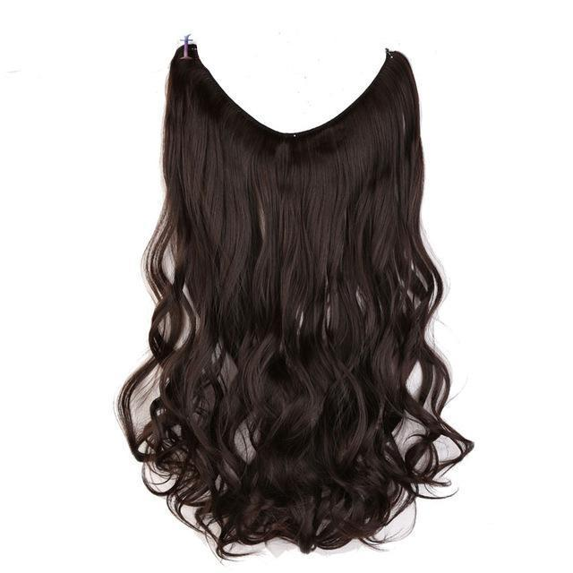 Extension cheveux SANS clips - 50 CM - VentesFlashFrance