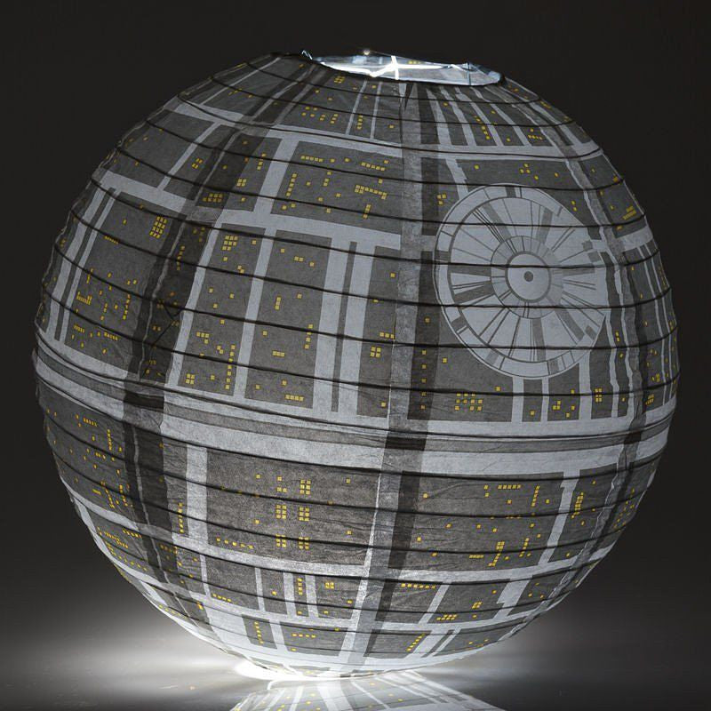 Death Star Paper Light Shade