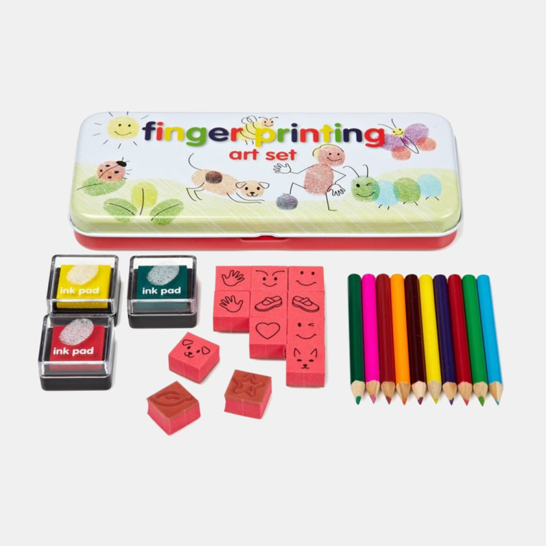 Finger Printing Art Set Original