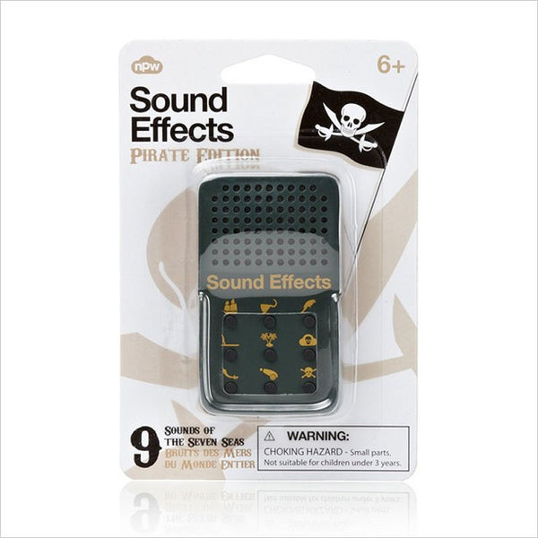 Mini Sound Effects Toy - Pirate
