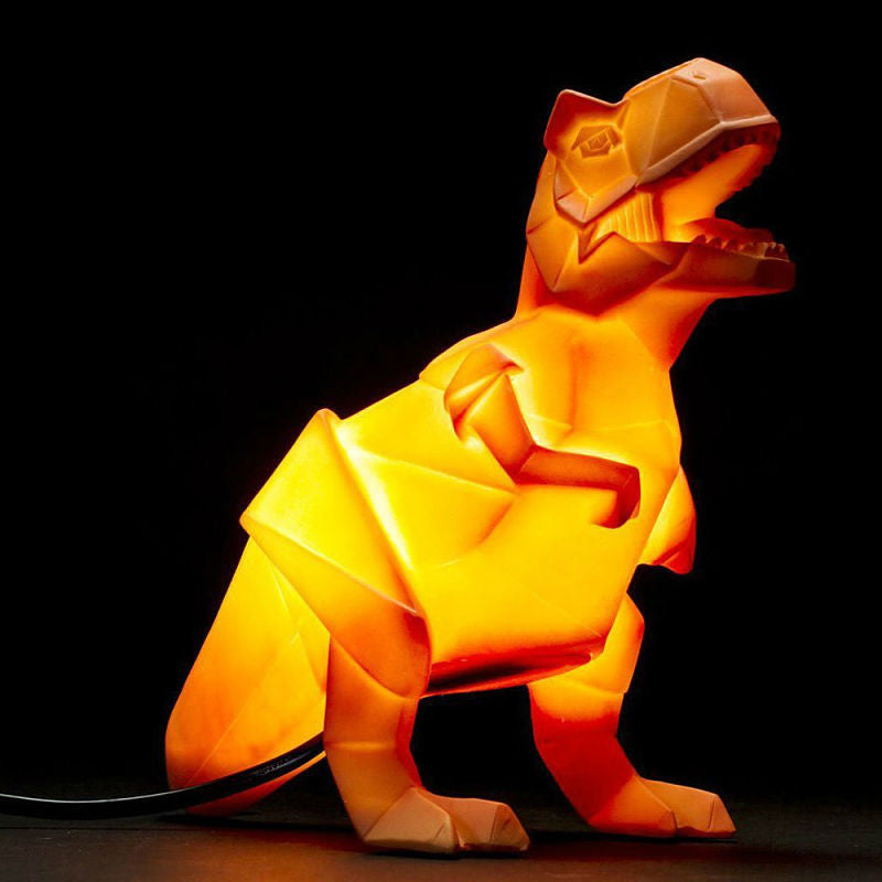 Dino Lamp -  T-Rex (Orange)