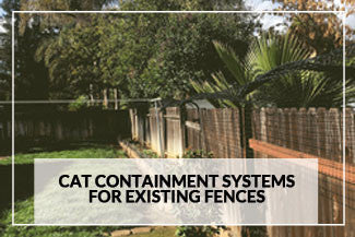 kitty corral cat fence systems cat containment for existing fences