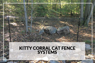 Kitty Corral Cat Fence Systems