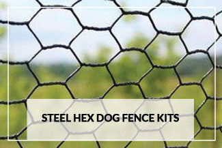 Steel Hex Dog Fence Kits